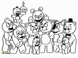 Five Nights at Freddys Coloring Pages Five Nights at Freddys Fnaf Coloring Page