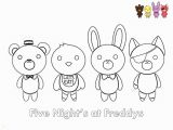 Five Nights at Freddys Coloring Pages Fnaf Coloring Pages Cute