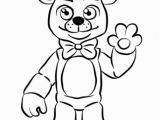 Five Nights at Freddys Coloring Pages Fnaf Golden Freddy Omalovánka