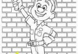 Fix It Felix Coloring Pages Printable Backyardigans Coloring Pages for Kids
