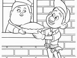 Fix It Felix Coloring Pages Wreck It Ralph Coloring Pages