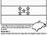 Flag Of Costa Rica Coloring Page Flag Honduras Coloring Page International Flags Coloring Pages