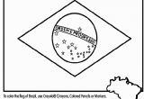 Flag Of Haiti Coloring Page Brazil Flag Coloring Page Coloring Pages Pinterest