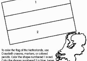 Flag Of Haiti Coloring Page Netherlands Flag Coloring Page