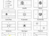Flags Of Hispanic Countries Coloring Pages Flags Of Spanish Speaking Countries Coloring Sheets by