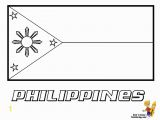 Flags Of the World Coloring Pages Free Coloring Page to Print Of Philippines Flag