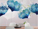 Floral Wall Murals Canada Büyük Desenli Duvar Kağıtları Ile 22 Farklı Dekorasyon