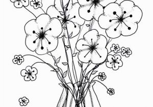 Flower Coloring Pages Adults Coloring Pages for Adults Flowers Free