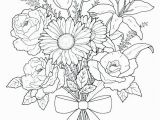 Flower Coloring Pages for Adults to Print Flower Coloring Pages for Adults 72