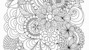 Flower Coloring Pages for Adults to Print Flowers Abstract Coloring Pages Colouring Adult Detailed Advanced