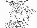 Flower Coloring Pages Free Printable Free Coloring Pages Sheets Of Roses 007 In 2018