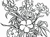 Flower Coloring Pages Free Printable Free Flower Coloring Pages to Print Coloring Page Cvdlipids