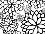 Flower Coloring Pages Free Printable Free Printable Bursting Blossoms Flower Coloring Page