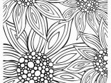 Flower Coloring Pages Printable for Adults 12 Free Printable Adult Coloring Pages for Summer