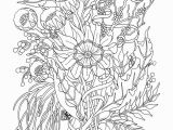 Flower Coloring Pages Printable for Adults 31 Best and Free Flower Coloring Pages for Adults