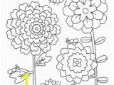 Flower Garden Coloring Pages Flower Garden Coloring Page Worksheet God S Creation Nature