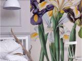 Flower Garden Wall Murals Iris Xiphium Mural New York Botanical Garden From £60 Per
