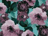 Flower Garden Wall Murals Mauve Floral Garden Glamor 1 Wall Mural Wallpaper Flowers