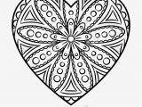 Flower Mandala Coloring Pages Printable Heart Mandala Coloring Pages Printable Color Pages for Adults