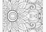 Flower Mandala Coloring Pages Printable Mandala Coloring Pages Best Lovely Picture Coloring New Hair