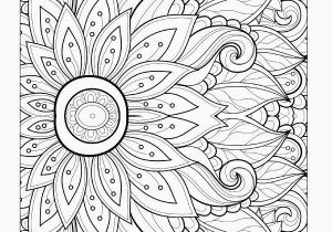 Flower Mandala Coloring Pages Printable Mandala Coloring Pages Best Lovely Picture Coloring New Hair