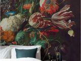 Flower Murals Ideas Vase Of Flowers by De Heem Wallpaper Muralswallpaper