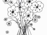 Flower Vase Coloring Pages Flower Coloring Pages for Adults Inspirational Cool Vases Flower