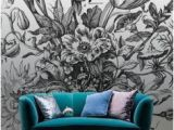 Flower Wall Murals Uk Bouquet In A Vase Mural by Maria Sybilla Meriaen Decor