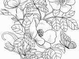 Flowers Coloring Pages Print Spring Flowers Coloring Page