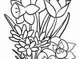 Flowers Coloring Pages Printable Coloring Flower New Coloring Flower Fresh Free Printable