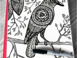 Flying Crow Coloring Page Beautiful Crow Coloring Page for Adult Raven Bird Branches