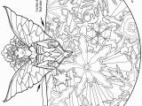 Flying Fairy Coloring Pages Tree topper Fairy Angel Coloring Books for Adults