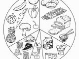 Food Groups Coloring Pages for Preschoolers Printable Healthy Food Coloring Pages with List Food Coloring Page