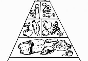 Food Pyramid Coloring Page Food Pyramid Coloring Page for Preschoolers Coloring Home