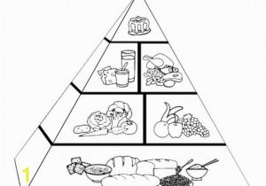 Food Pyramid Coloring Page Food Pyramid Coloring Pages