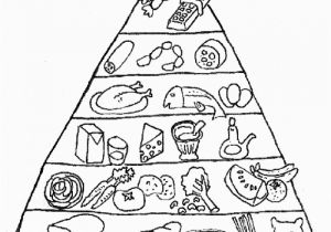 Food Pyramid Coloring Page Free Printable Food Coloring Pages for Kids