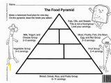 Food Pyramid Coloring Page Worksheet Food Pyramid Worksheets Blank Food Pyramid