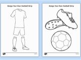 Football Colouring Pages Printable Uk Free Design A Football Strip Teacher Made