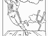 Football Player and Cheerleader Coloring Pages Football Field Coloring Page Coloring Pages