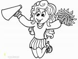 Football Player and Cheerleader Coloring Pages Printable Cheerleading Coloring Pages for Kids Cool2bkids
