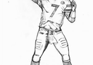 Football Player Coloring Pages to Print Football to Color 29 Beautiful Football Coloring Pages