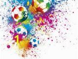 Football Splash Wall Mural Die 13 Besten Bilder Von Vinci Zimmer