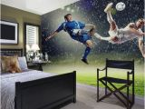 Football Splash Wall Mural Made to Measure Football Wallpaper Mural Perfect for Boys
