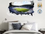 Football Splash Wall Mural Pin On Manchester City F C Wall Stickers