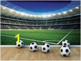Football Stadium Wall Murals 39 Best Boys Football Bedroom Images