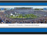 Football Stadium Wall Murals Kentucky Wildcats Football Stadium Framed Wall Art