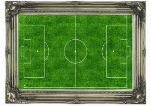 Football Stadium Wall Murals Modern the Football Pitch Wall Murals