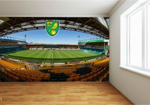 Football Stadium Wall Murals norwich City Fc Carrow Road Full Wall Mural 2 Wall Stickers F