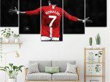 Football Wall Mural Wallpaper ᗕcanvas Painting Football soccer Start Old Trafford 5