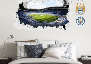 Football Wall Mural Wallpaper Pin On Manchester City F C Wall Stickers